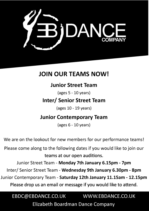 Join Our Dance Teams!